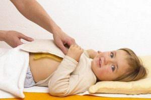 Компресс на грудь ребенка