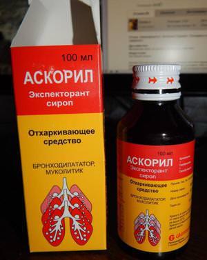 Отхаркивающее средство в сиропе - удобно и эффективно
