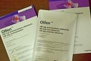 Пластырь «Олфен»: показания и правила применения