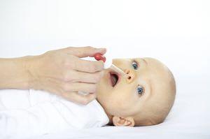 Способ применения глазных капель Альбуцид для закапывания в нос ребёнку