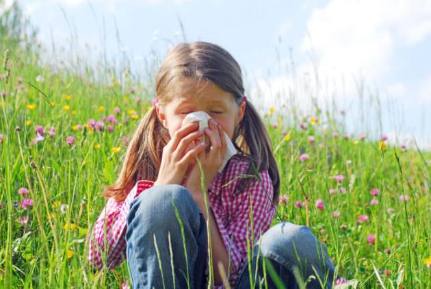 Аллергический ринит у ребенка