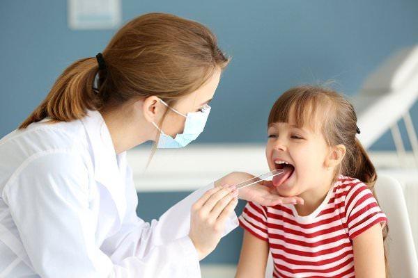 острый фарингит у детей, диагностика заболевания