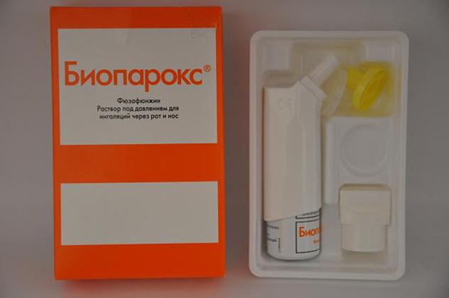Препарат Биопарокс