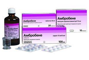 Особенности использования Амбробене для лечения кашля