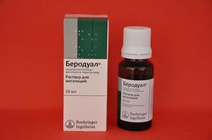 Препарат Беродуал - фармакологическое действие