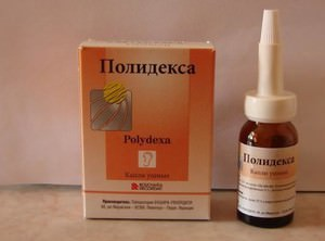 Лечение ушей полидексом